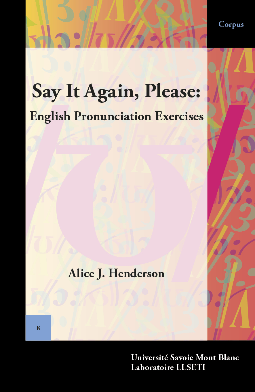 Say It Again, Please: English Pronunciation Exercices