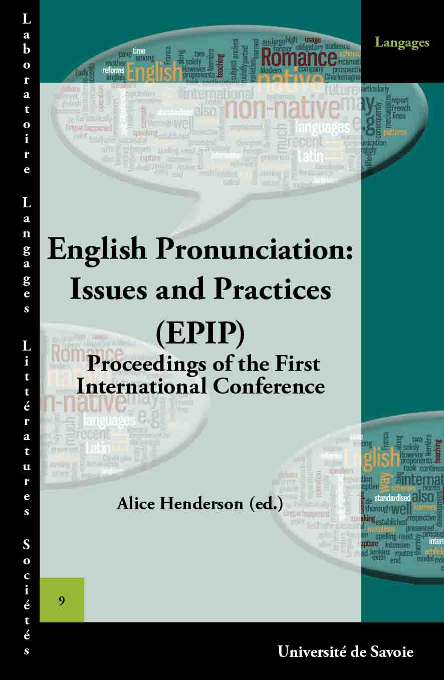 English Pronunciation: Issues and Practices